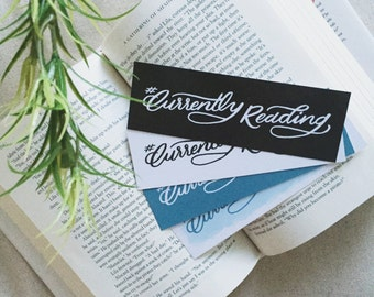 Currently Reading Printable Bookmarks