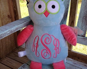 SALE :  24.99 Personalized Stuffed Owl!!!