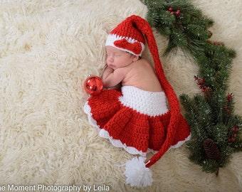 Baby santa outfit | Etsy
