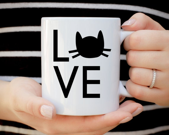 Crazy Cat Lady Mug, Cat Lover Present, Cat Mug, Cat Mug, Gift For Cat Lady, Coffee Lover, Animal Mug, Cat Head, Its Not Drinking Alone
