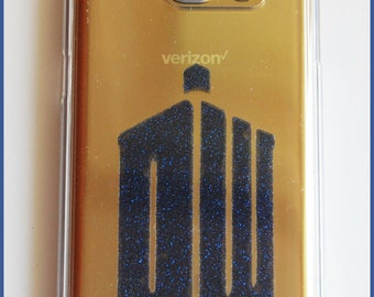 Doctor Who Galaxy S7 Clear Phone Case