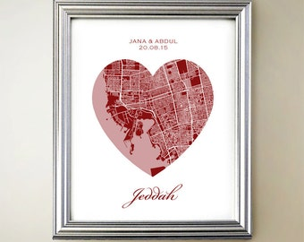 Jeddah Heart Map