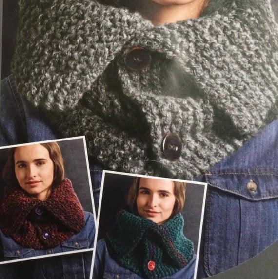 Knitting Needles And Yarn For Beginners : Knitting kit unisex cowl beginner pattern includes