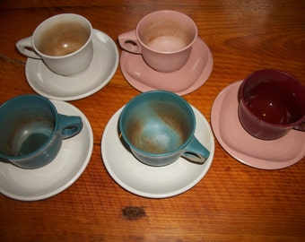 Boomton Cups and Saucers