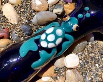 Sea Turtle Glass Piece