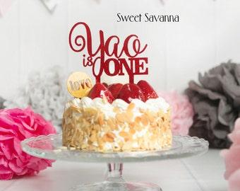 Custom Birthday Cake Topper - Name Cake Topper , First Birthday MADE IN AUSTRALIA