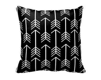 decorative throw pillow cover decorative pillow black pillow cover black throw pillow cover 20x20 18x18 lumbar - Black Decorative Pillows