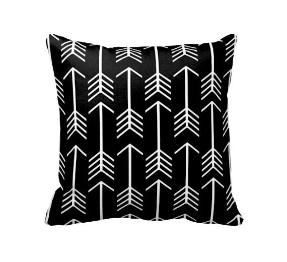 Decorative Throw Pillow Cover Decorative Pillow Black Pillow