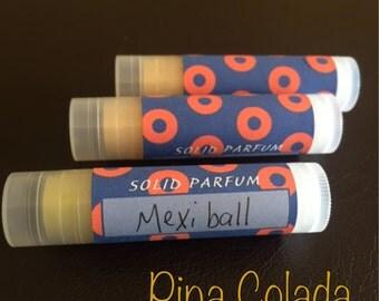 Solid Moisturizing Perfume stick ~PHISH~ Pina Colada scent