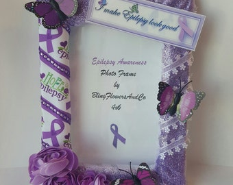 Epilepsy Awareness Picture Photo Frame