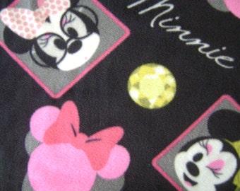 Minnie Mouse Fleece Fabric (1-3/4 yard)
