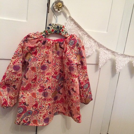 NEW! Holly Long Sleeve Liberty Blouse! Choose the pattern! 6m-8y