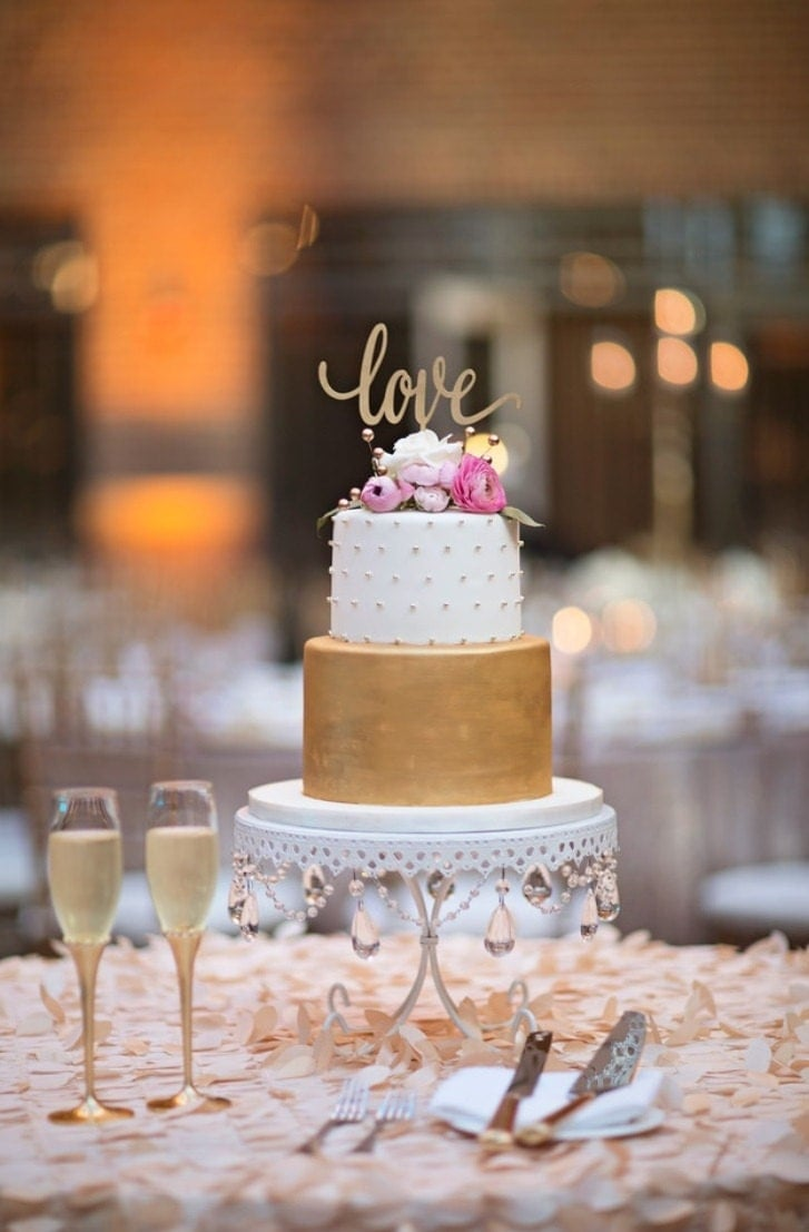 rose gold love wedding cake topper cake topper for wedding cake topper bridal shower 19279