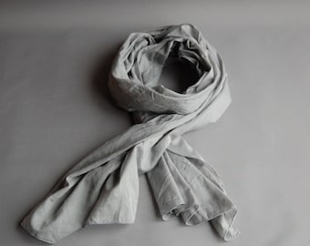 scarf naturally dyed cotton