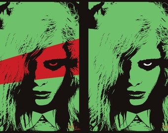 Night of the living dead - stylish pop art prints / poster
