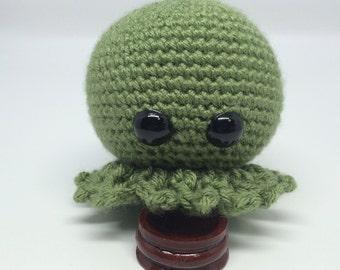 Baby Green Octopus