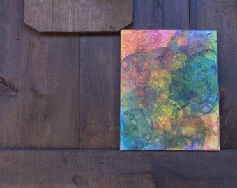 Colorful Bubble Abstract Painting