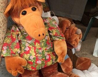 Vintage Lifesize Alf Stuffed Animal