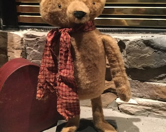 Made to order Primitive old looking stuffed bear