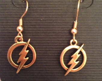 Flash Logo Earrings