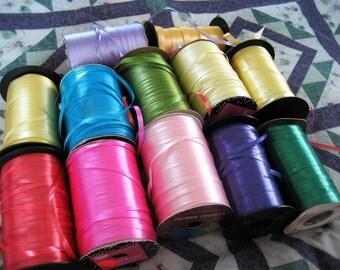 3.00 OFF - Bulk Assortment of Curling Ribbons - 12 Spools