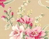 Half Yard_Tanya Whelan Original Barefoot Roses D1701-302 , OOP VHTF Free Spirit Fabric