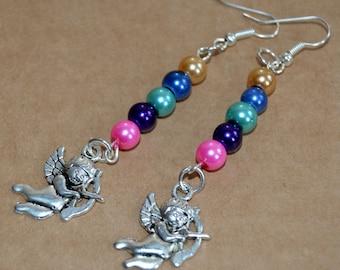 Boho Cupid Earrings.