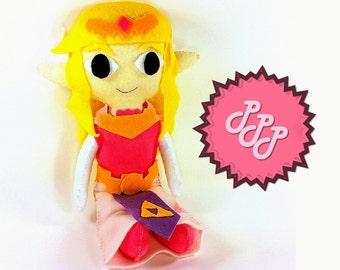 Legend of Zelda Plush Princess Zelda Doll