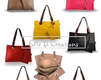 Monogrammed Handbag/ Tote/Great Gift/ All Season Bag