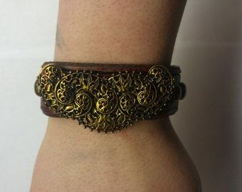 Golden Brocade Bracelet