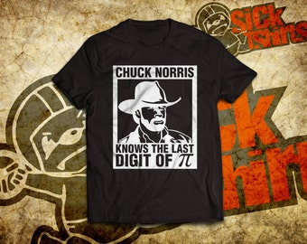 Chuck Norris Knows The Last Digit Of Pi T-Shirt