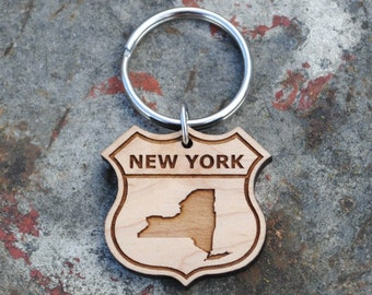 New York State KEYCHAIN