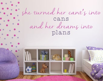 Girl Wall Decals | Etsy Part 31