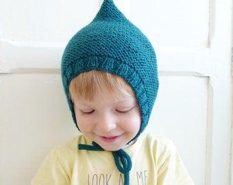 LUCIEN - Bonnet - knit - woolen hat size from newborn to 36 months (21 different colors)