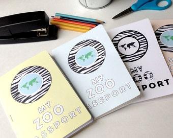Zoo Passport Printable
