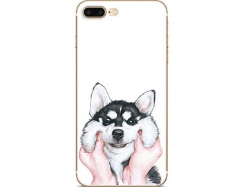dog iphone case phone case dog iphone case dog iphone 7 case husky iphone 7 case white iphone 7 plus case dog iPhone 6 case
