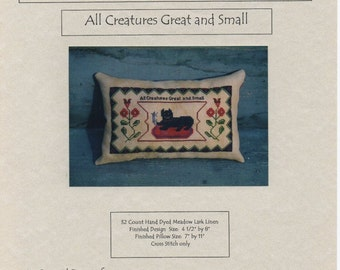 All Creatures Great and Small by Handwork Samplers