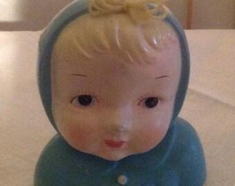 65% OFF POWER SALE Vintage Porcelain Baby's Head Vase