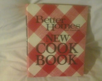 1969 better homes and gardens new cook book