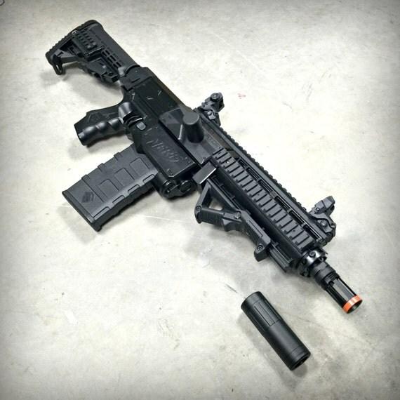 Nerf Retaliator HK 416 UPDATE All Current By