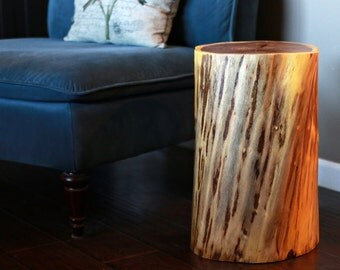 Mesquite Stump Table