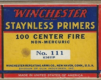winchester staynless primers center fire box download