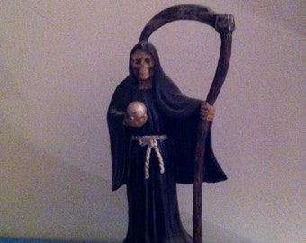 Hex breaker spell cast with the aid of La Santisima Muerte, Our Most Holy Death