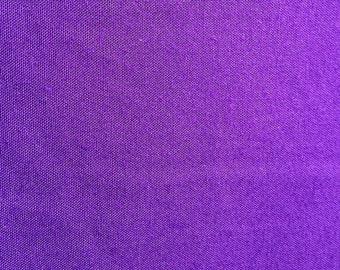 Purple Rayon Challis Fabric-By-The-Yard