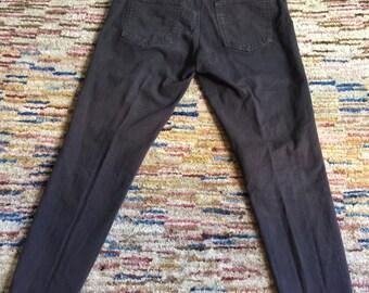 Gray Cotton Pants