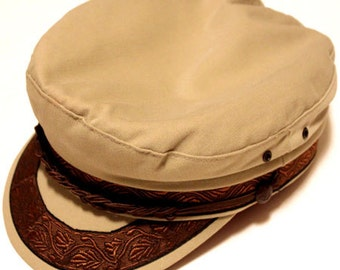 Deadstock!! Greek fisherman hat made in greece