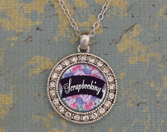 Scrapbooking Artisan Necklace - OTSBK47283