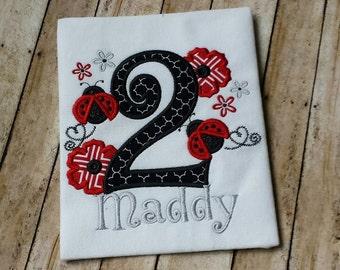 Ladybug Birthday Shirt ~ Ladybug Birthday Onesie ~ Ladybug First Birthday ~ Ladybug 1st Birthday Shirt ~ 1st 2nd 3rd 4th 5th Birthday Shirt