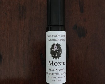 ON SALE! Moxie Aromatherapy Roll On~ Perfume Oil~Peppermint~Juniper~Rosemary