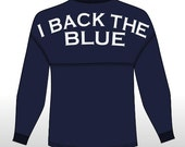 I BACK THE BLUE Spirit Jersey / Game Day Jersey